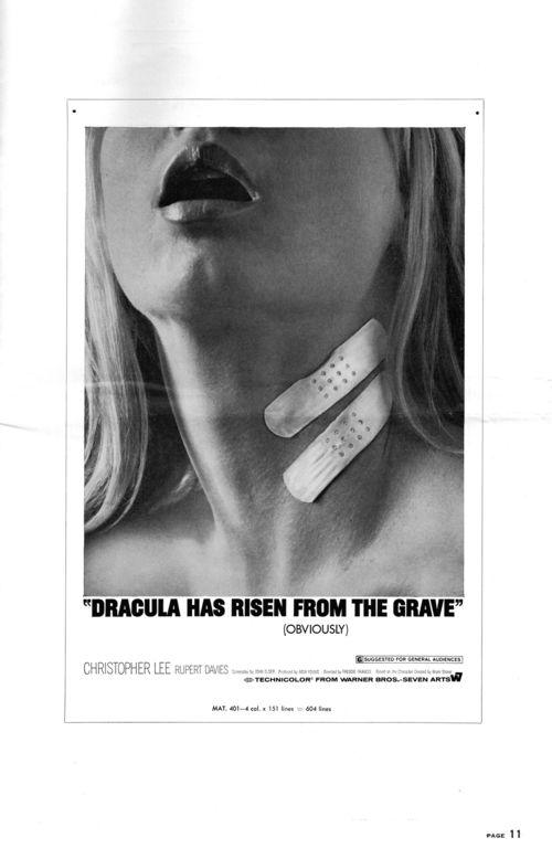 Dracula has risen pressbook 11
