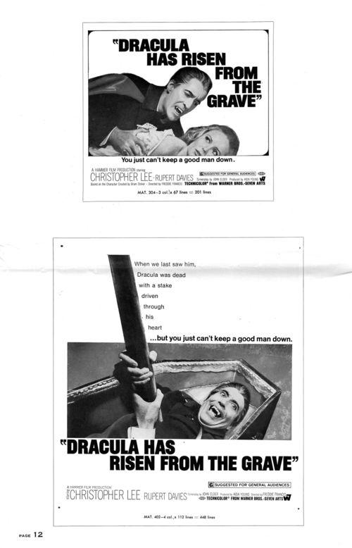 Dracula has risen pressbook 12