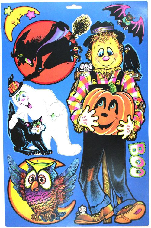 Halloween beistle assorted cutouts