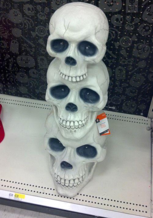 Skull-totem