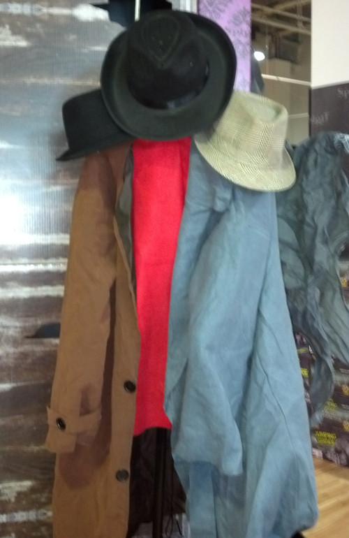 coat rack monster at spirit store