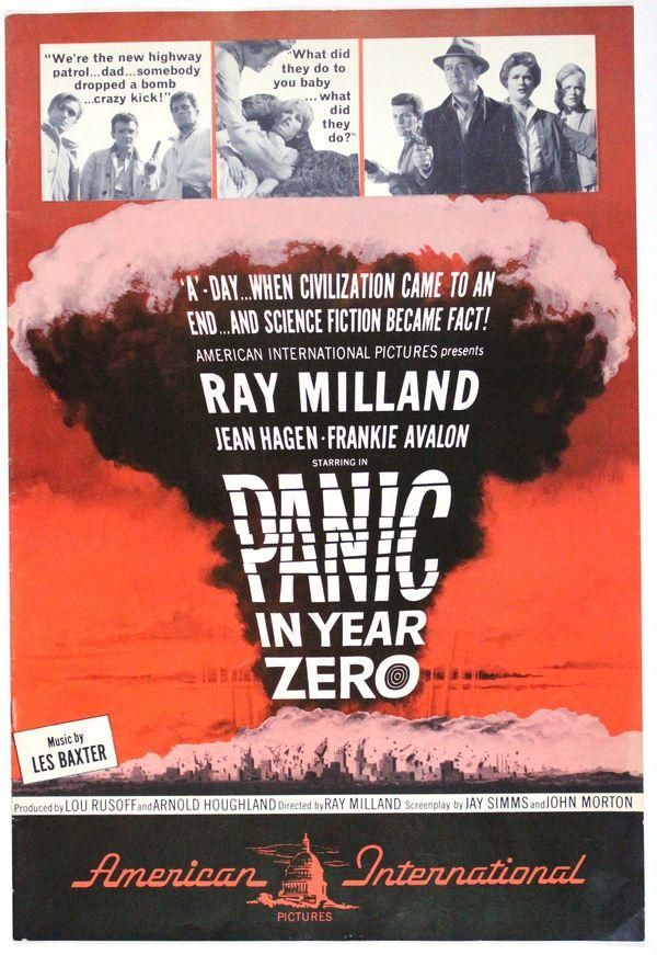 movie pressbook  panic in year zero   1962   from zombos