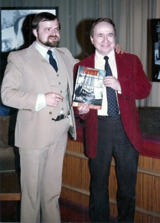 Joe Franklin with Jim Knusch