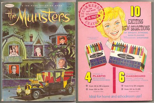 Munsters coloring book