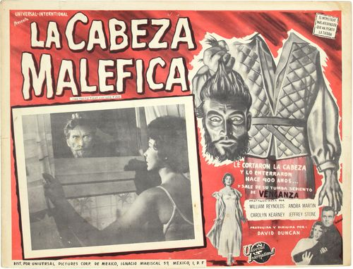 mexican lobby card thing that couldn't die