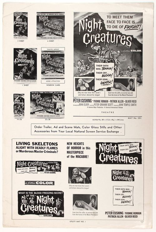 Night creatures pressbook 4