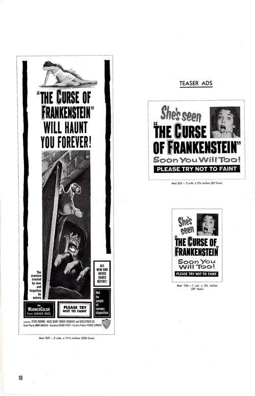 Curse of frankenstein pressbook 10 (2)