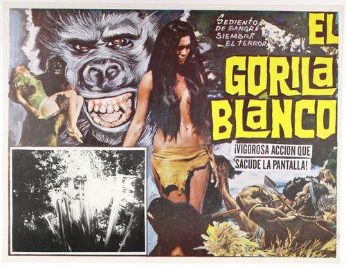 el gorila blanco mexican lobby card