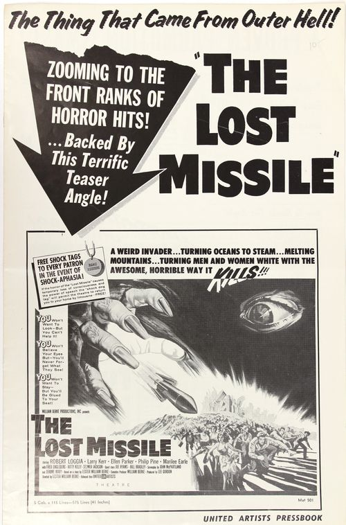 Lost missile pressbook 1