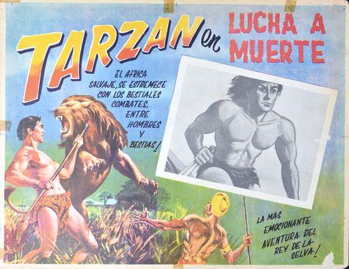 tarzan mexican lobby card