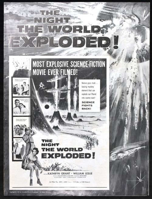 Pressbook night world exploded 1