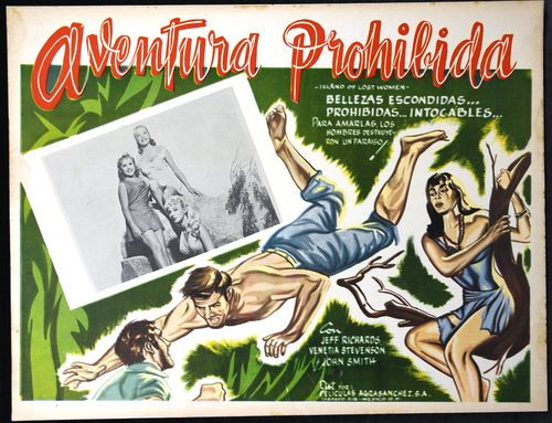 mexican lobby card island of lost women