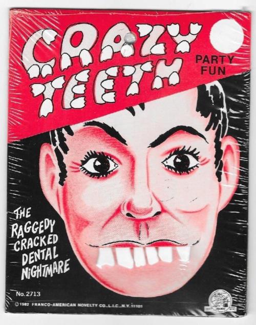crazy halloween teeth