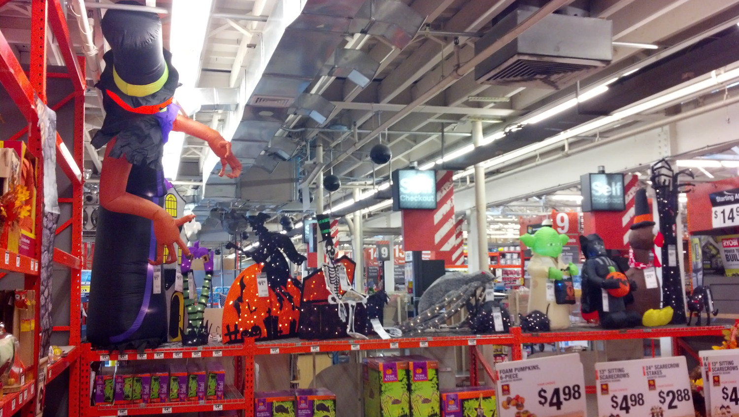 Halloween 2015 Sighted! Home Depot Stores (From Zombos' Closet)