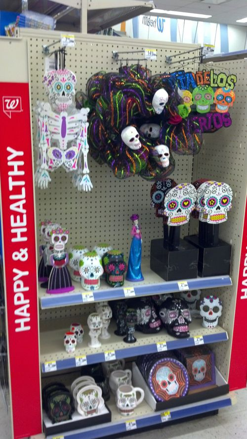 walgreens halloween day of the dead decorations