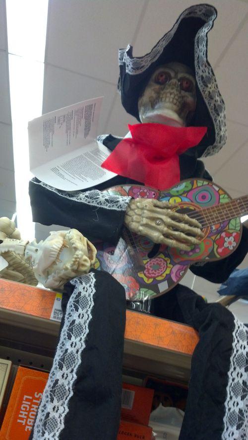 walgreens halloween day of the dead skeleton