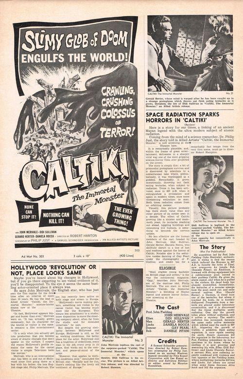 Caltiki pressbook