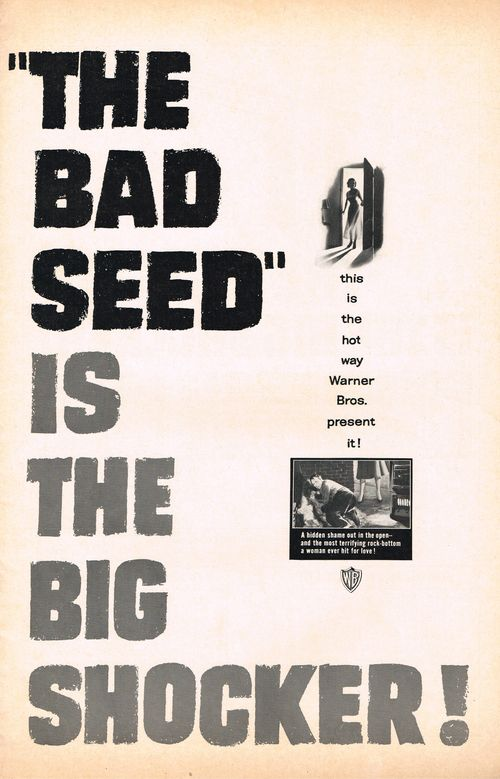 Bad seed pressbook