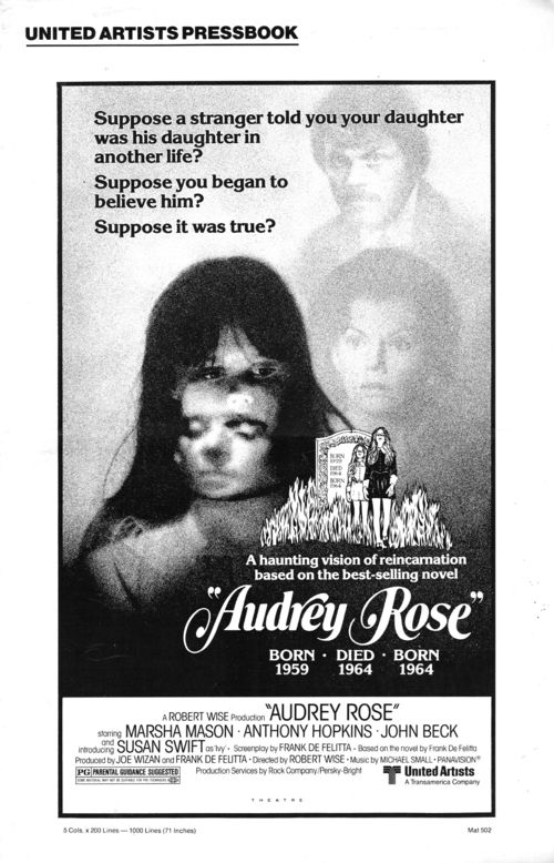 Pressbook audrey rose