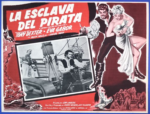 captain kidd mexican lobby card