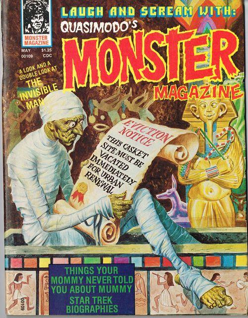 Quasimodo monster mag 8