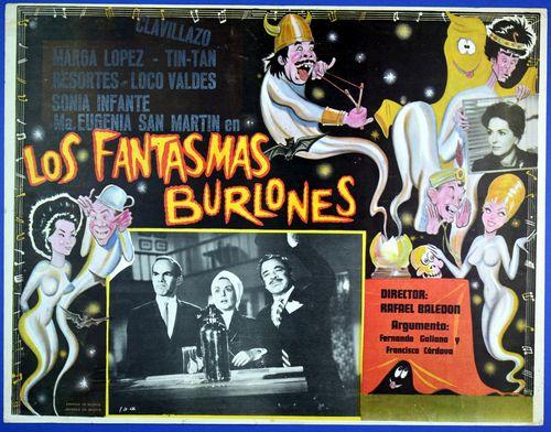 Fantasmas burlones mexican lobby card
