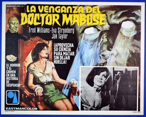 Doctor mabuse mexican lobby card