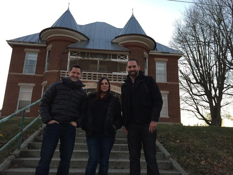 Grant Wilson with Katrina and Nick - Randolph County Infirmiry
