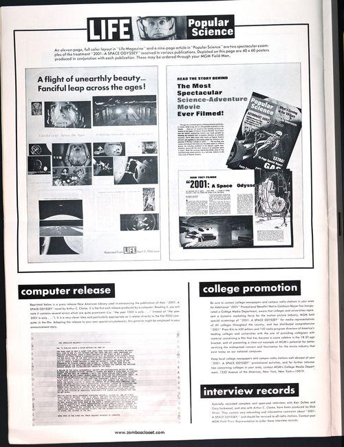 2001 space odyssey pressbook 14