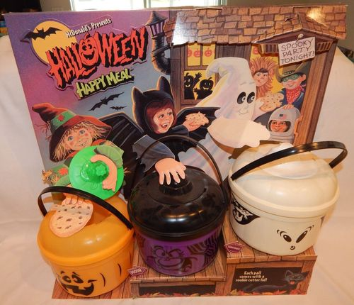 McDonald's Halloween Happy Meal Display