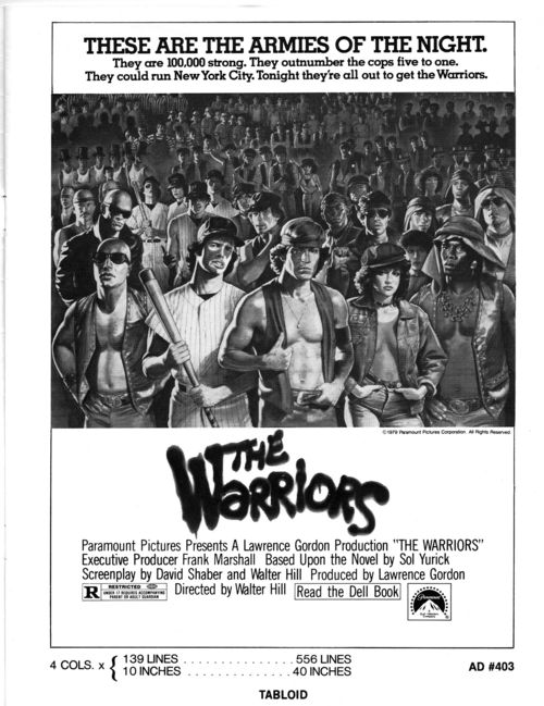 The Warriors Pressbook