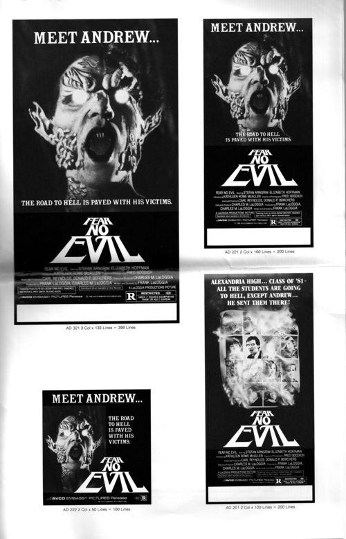 Fear No Evil Pressbook