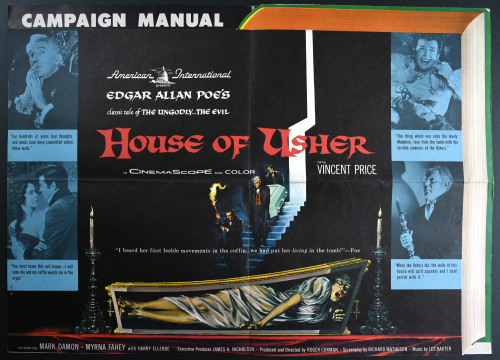 House of usher pressbook 01