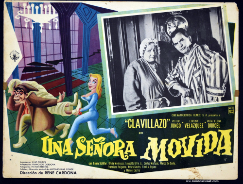 Senora movida lobby card