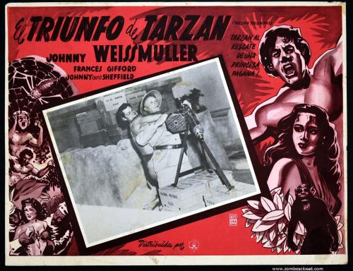 Tarzan Triumphs Mexican lobby card
