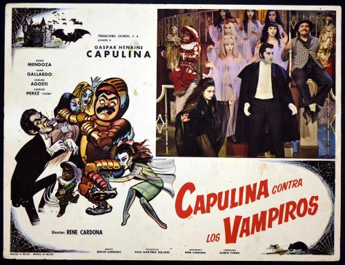 Capulina contra los vampiros lobby card 1