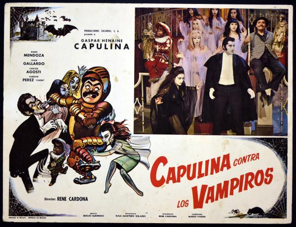 Capulina Contra Los Vampiros (1971) Mexican Lobby Card ...