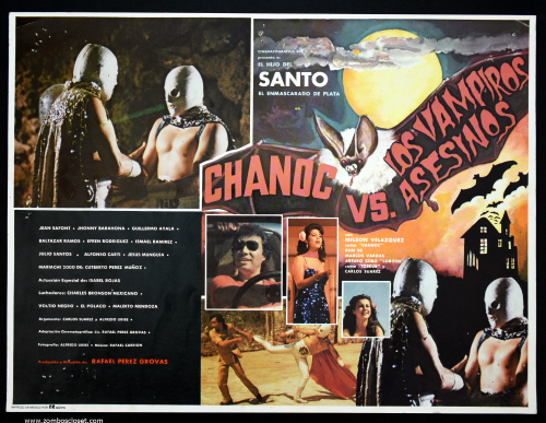 Chanoc vs vampiros lobby card