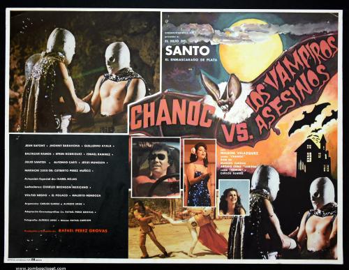 Chanoc vs vampiros lobby card