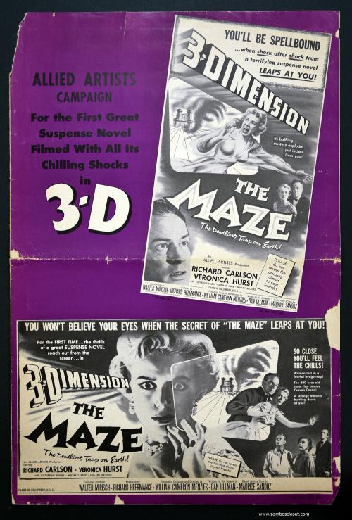The Maze Pressbook 01