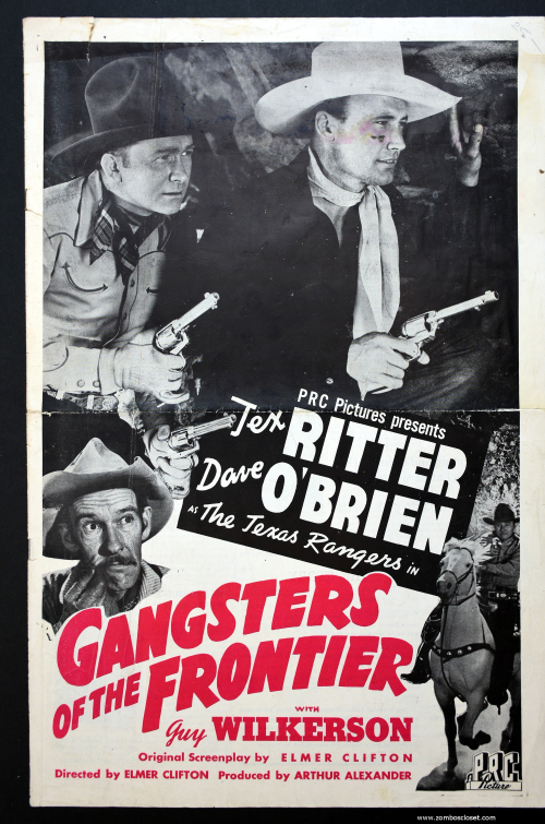 Gangsters of the Frontier Pressbook 01