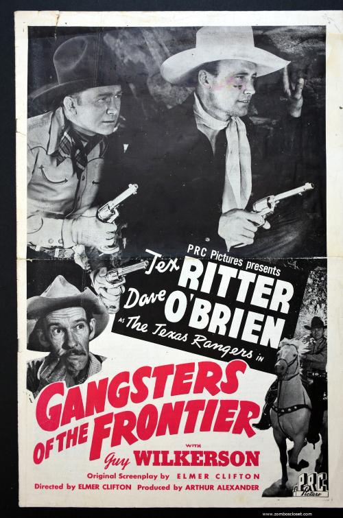 Gangsters of the Frontier Pressbook 01