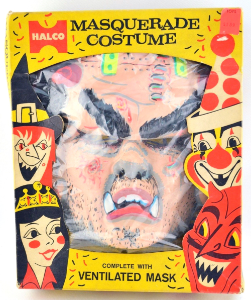 Monster man halco costume 2