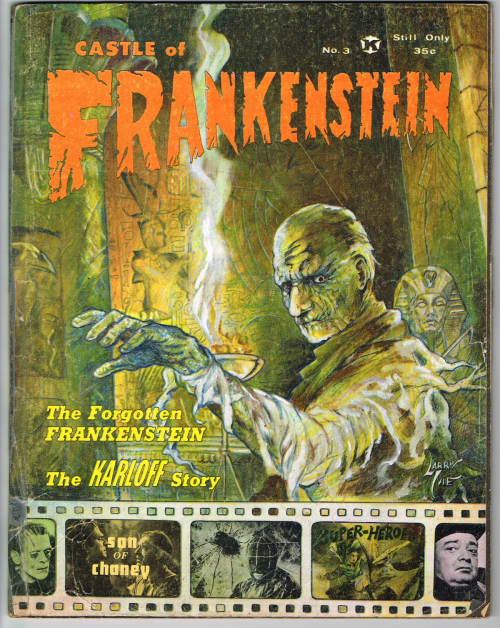 Castle of Frankenstein Issue 3