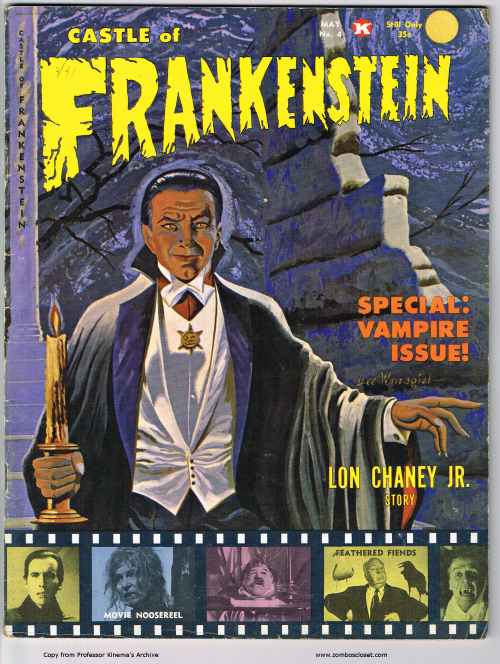 Castle of Frankenstein Issue 4