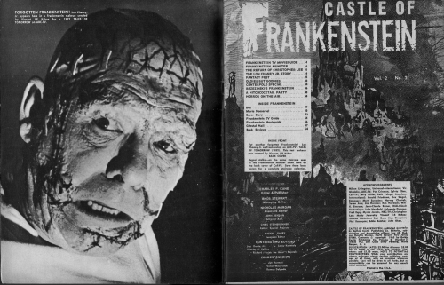 Castle of Frankenstein Issue 6