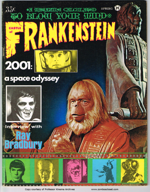 Castle of Frankenstein Issue 13