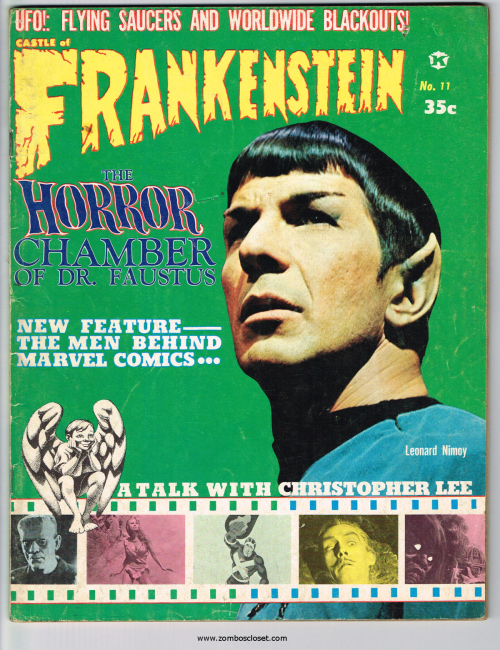 Castle of Frankenstein Issue 11