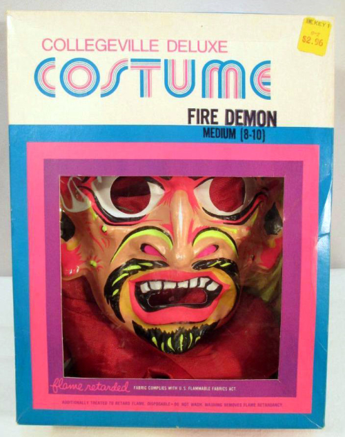 Fire demon costume bidzilla! 4