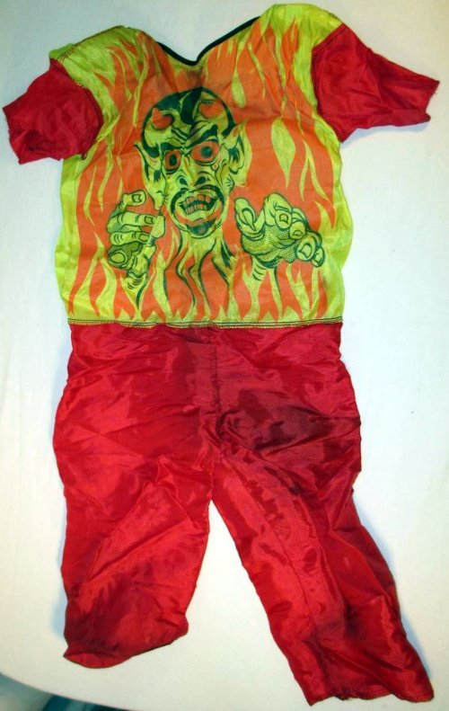 Fire demon costume bidzilla! 6